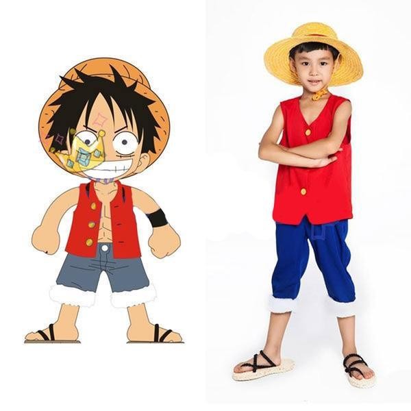 Déguisement Enfant One Piece Monkey D. Luffy