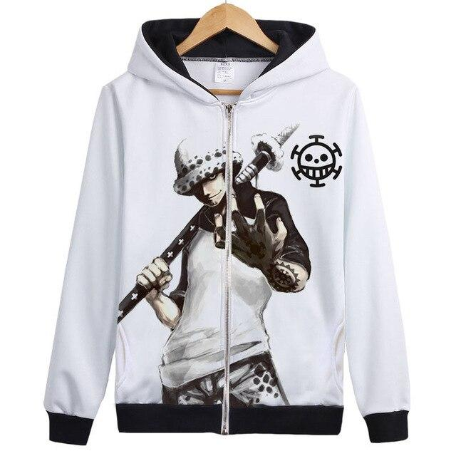 Veste Bomber One Piece Trafalgar Water D. Law