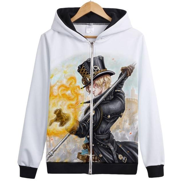 Veste Bomber One Piece Sabo