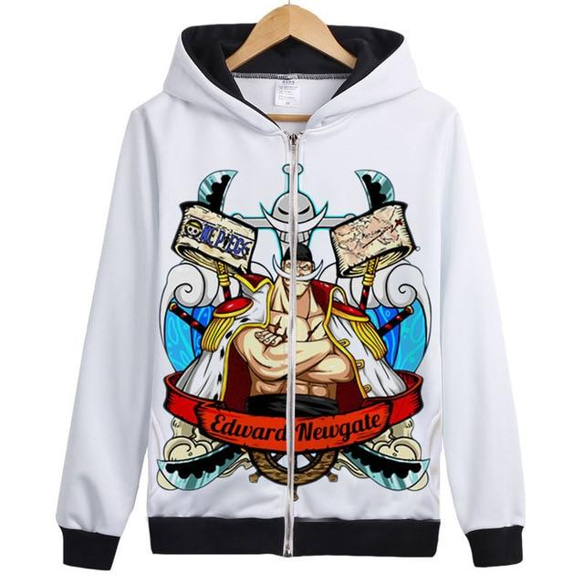 Veste Bomber One Piece Barbe Blanche