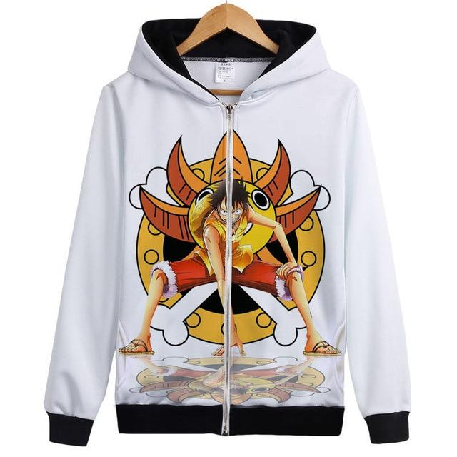Veste Bomber One Piece Luffy Mugiwara
