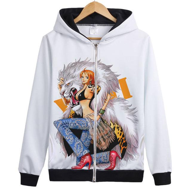 Veste Bomber One Piece Nami Animal