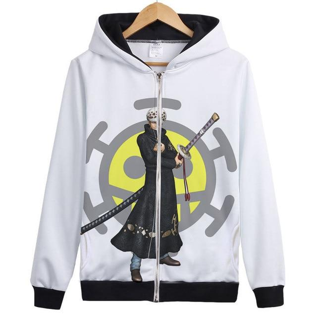Veste Bomber One Piece Trafalgar D. Water Law