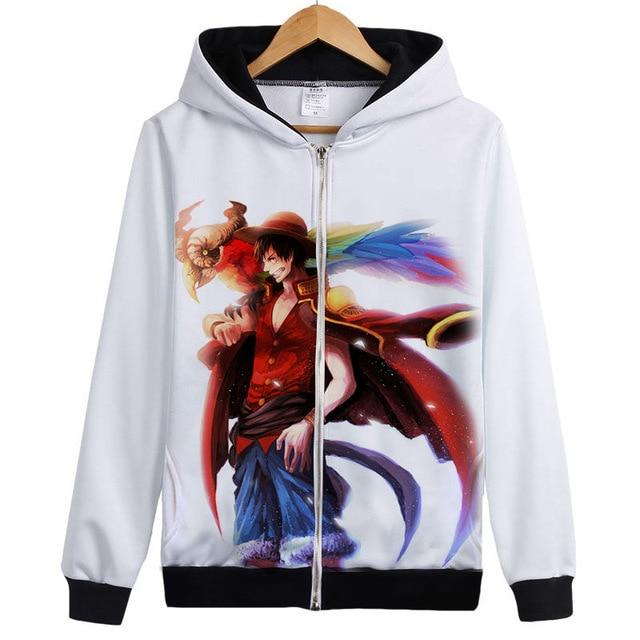 Veste Bomber One Piece Monkey D. Luffy