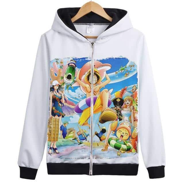 Veste Bomber One Piece Mugiwara