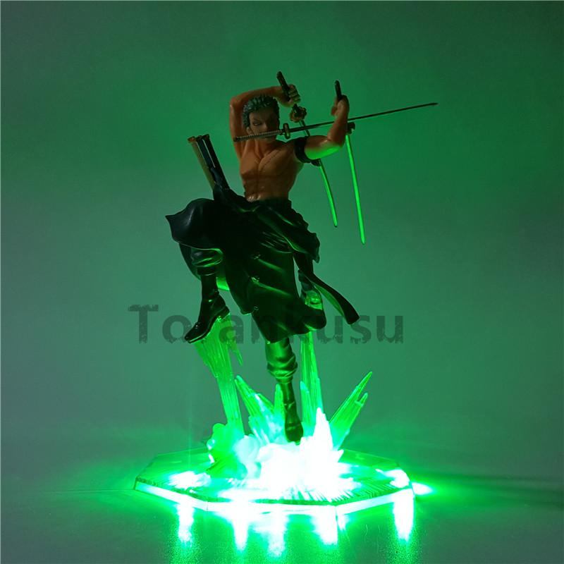 Figurine LED One Piece Zoro