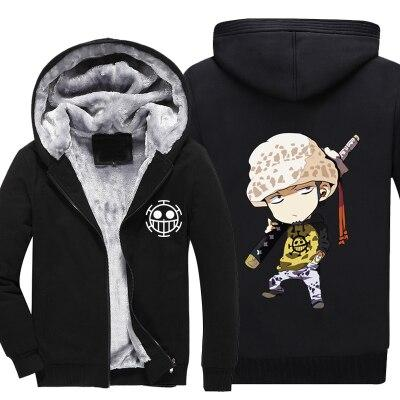 Veste Polaire One Piece Trafalgar Law