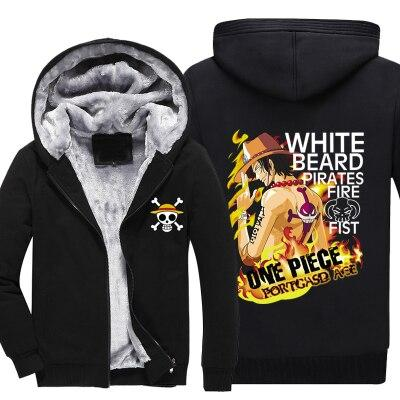 Veste Polaire One Piece Portgas D. Ace