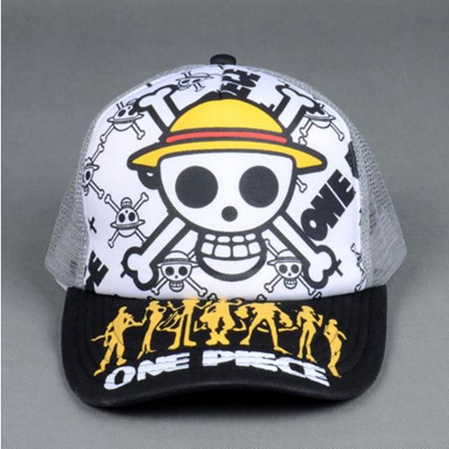 Casquette One Piece Jolly Roger Mugiwara