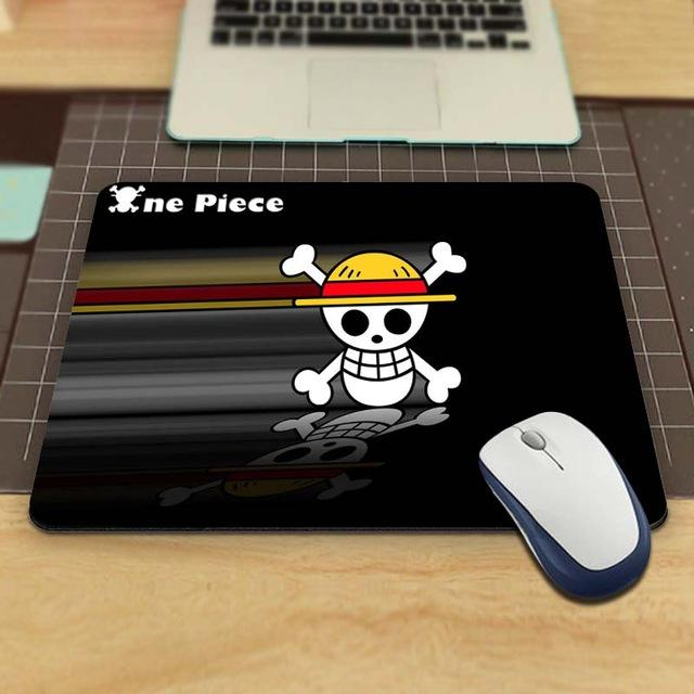 Tapis de Souris One Piece Jolly Roger Luffy