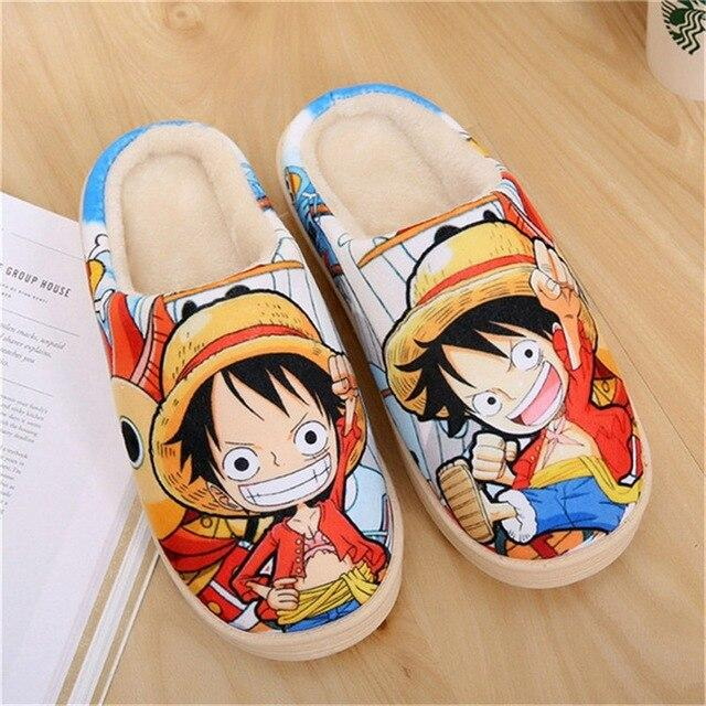 Pantoufles One Piece Monkey D. Luffy