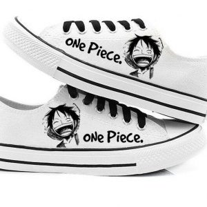Chaussures One Piece Chapeau de Luffy