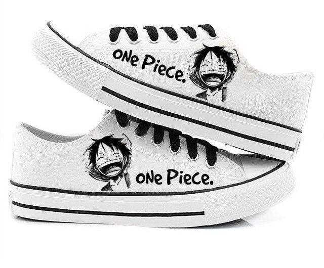 Chaussures One Piece Chapeau de Luffy