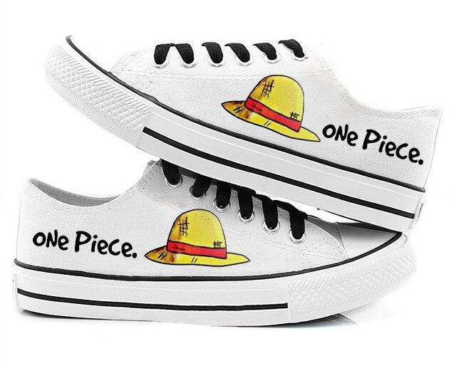 Chaussures One Piece Luffy Chapeau de Paille