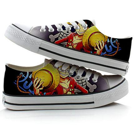 Chaussures One Piece Luffy Jolly Roger