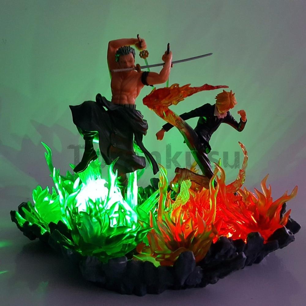 Figurine LED One Piece Roronoa Zoro