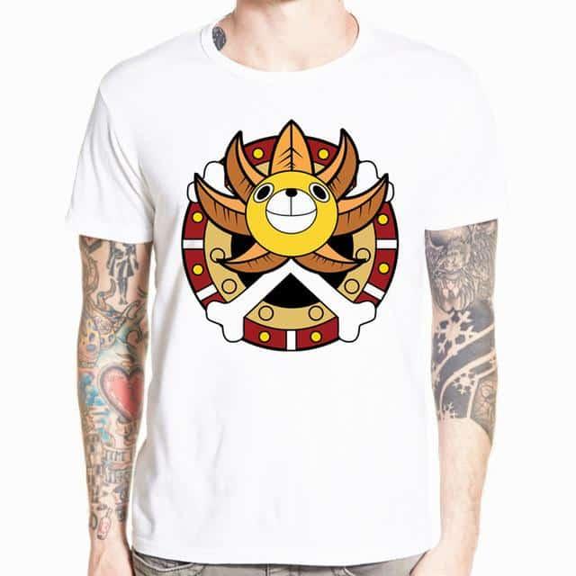 T-Shirt One Piece Thousand Sunny Logo
