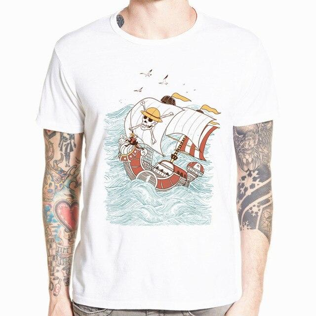 T-Shirt One Piece Thousand Sunny Estampe Japonaise
