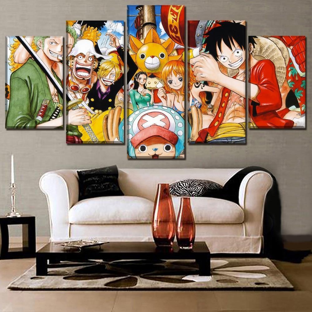 Tableau One Piece Équipage Mugiwara
