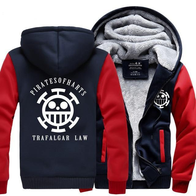 Veste Polaire One Piece Jolly Roger Law