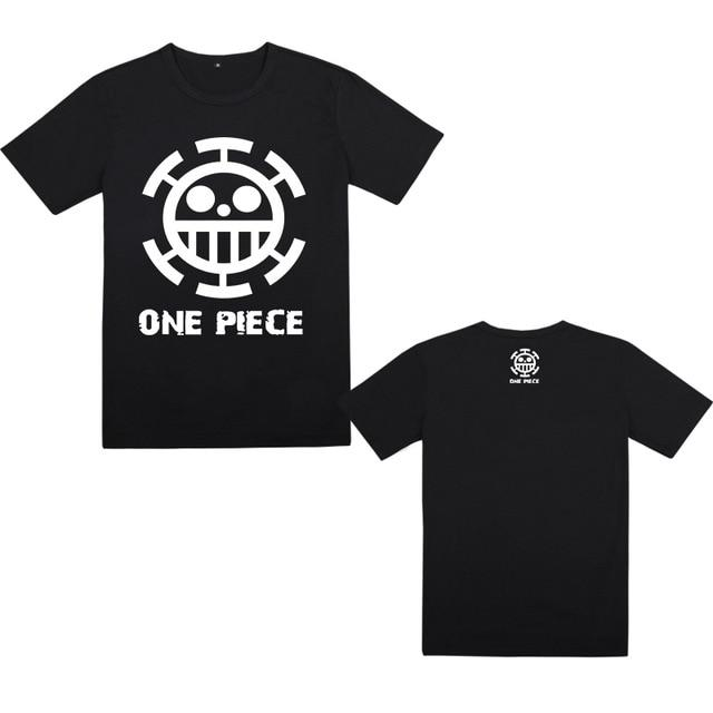 T-Shirt One Piece Jolly Roger Law
