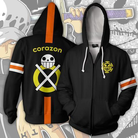 Veste Teddy One Piece Corazon Law