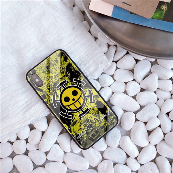 Coque One Piece Iphone Jolly Roger Law