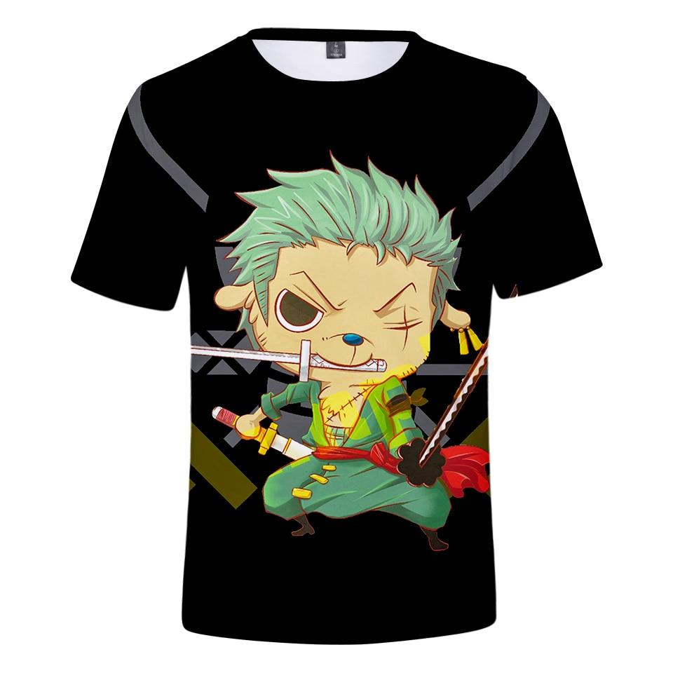 T-Shirt One Piece Roronoa Zoro et Tony Tony Chopper