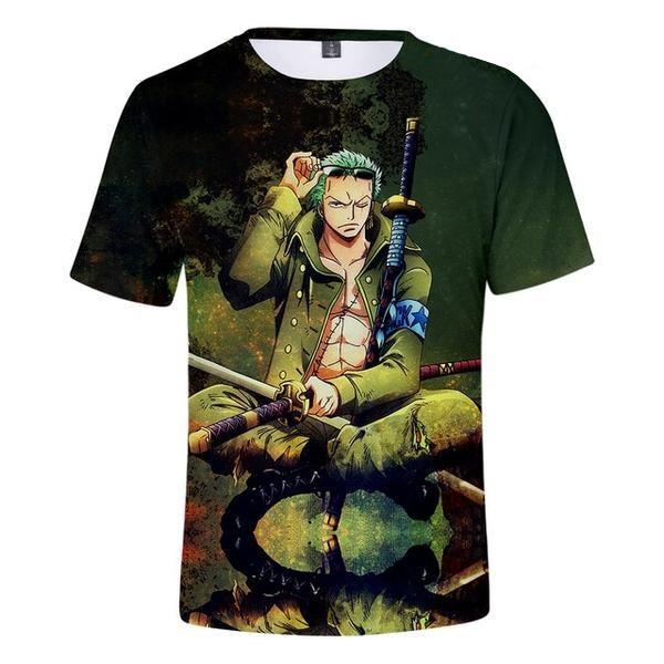 T-Shirt One Piece Roronoa Zoro Sabre