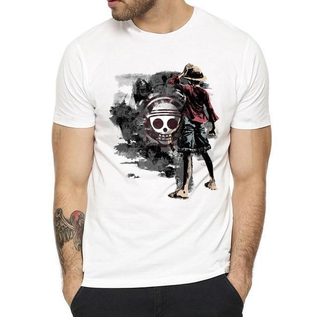 T-Shirt One Piece Luffy Mugiwara