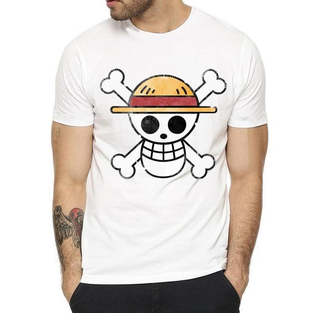 T-Shirt One Piece Jolly Roger Mugiwara