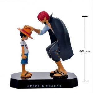 Figurine One Piece Shanks et Luffy