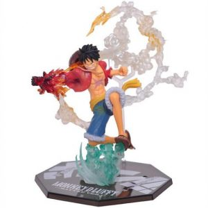 Figurine One Piece Luffy Red Hawk