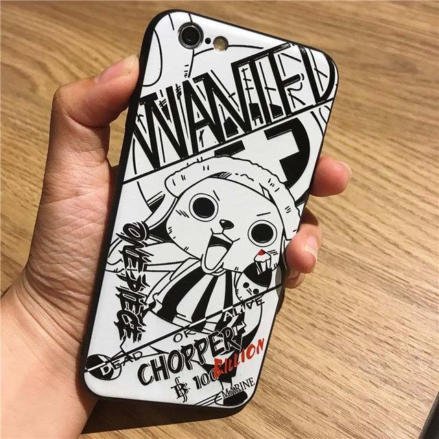 Coque One Piece Samsung Tony Tony Chopper Wanted