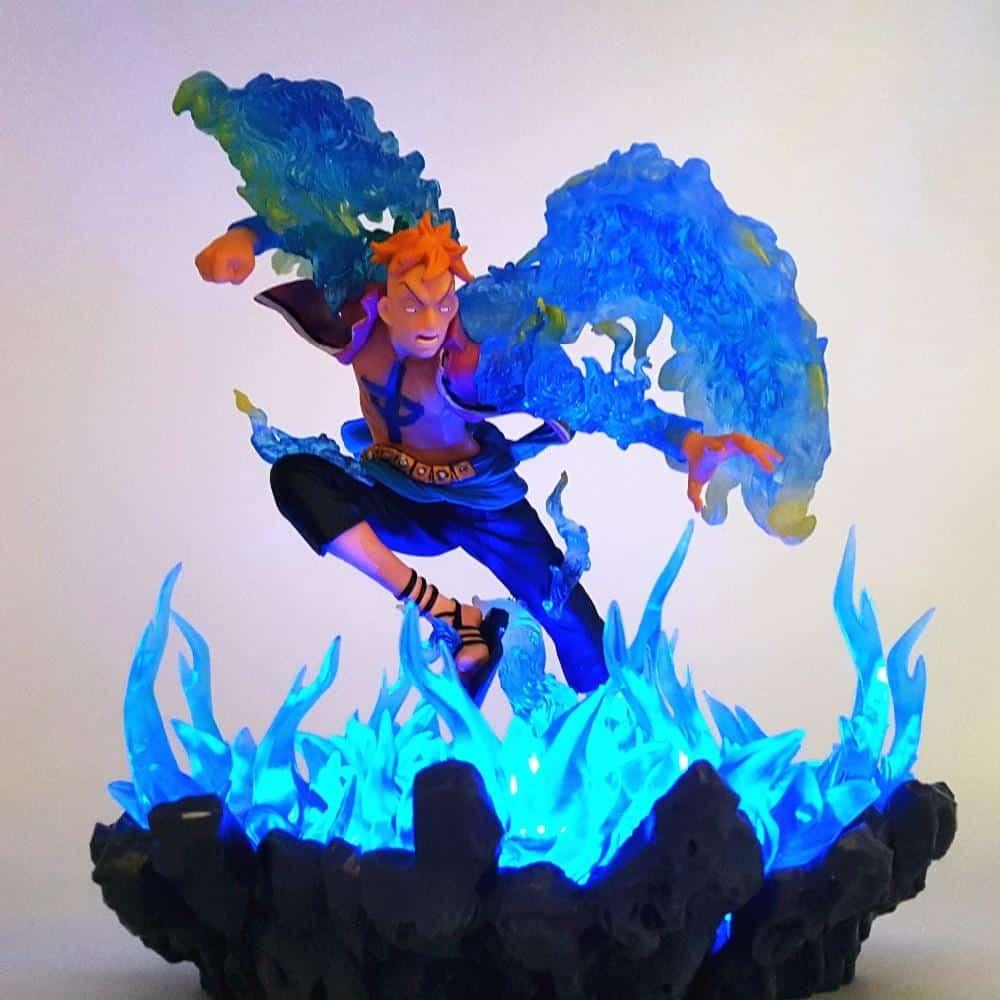 Figurine LED One Piece Marco Le Phénix