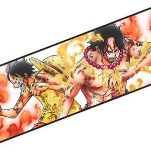 Tapis de Souris One Piece Luffy et Portgas