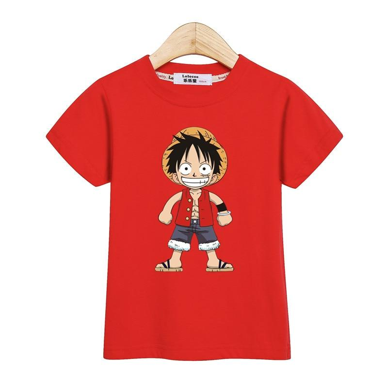 T-Shirt One Piece Enfant Monkey D. Luffy