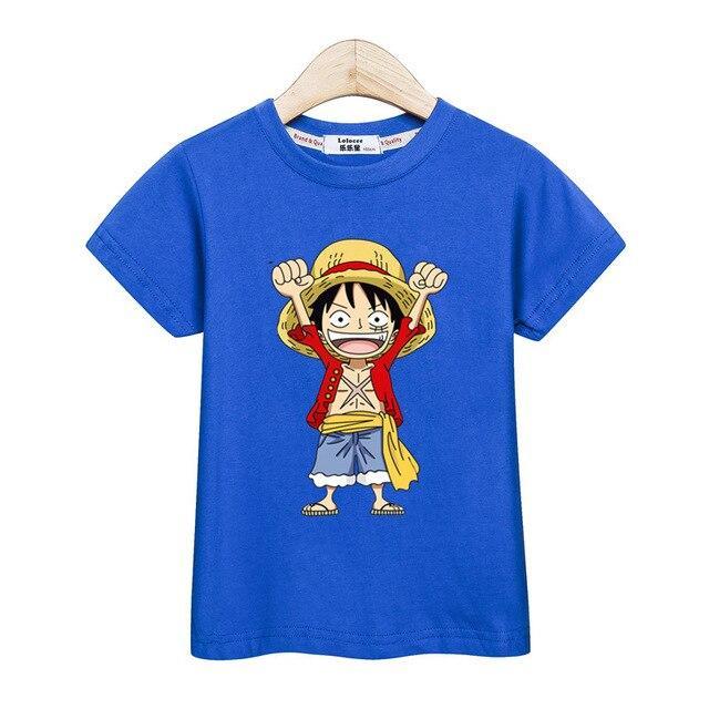 T-Shirt One Piece Enfant Monkey D. Luffy