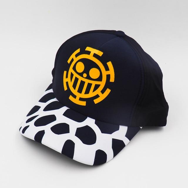 Casquette One Piece Trafalgar Jolly Roger Law