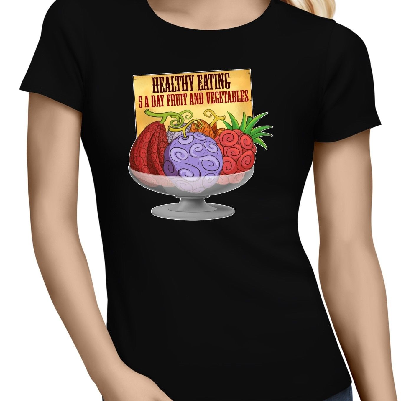 T-Shirt One Piece Femme Fruits du Démon