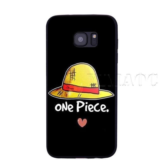 Coque One Piece Samsung Chapeau de Paille