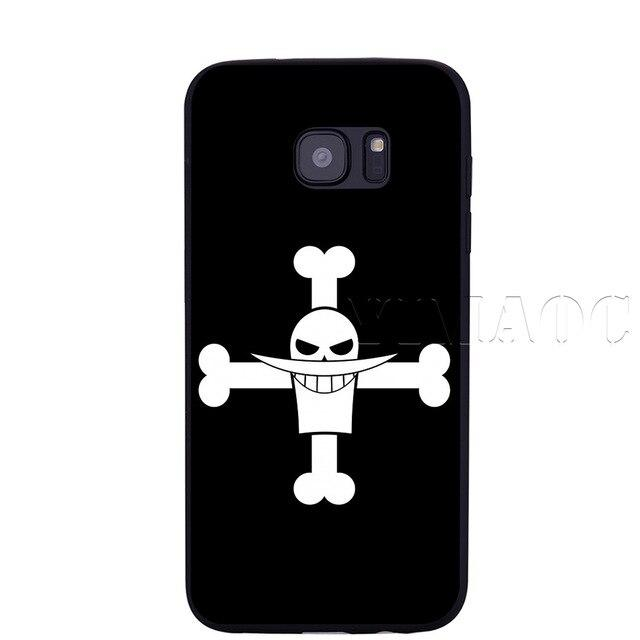 Coque One Piece Samsung Barbe Blanche