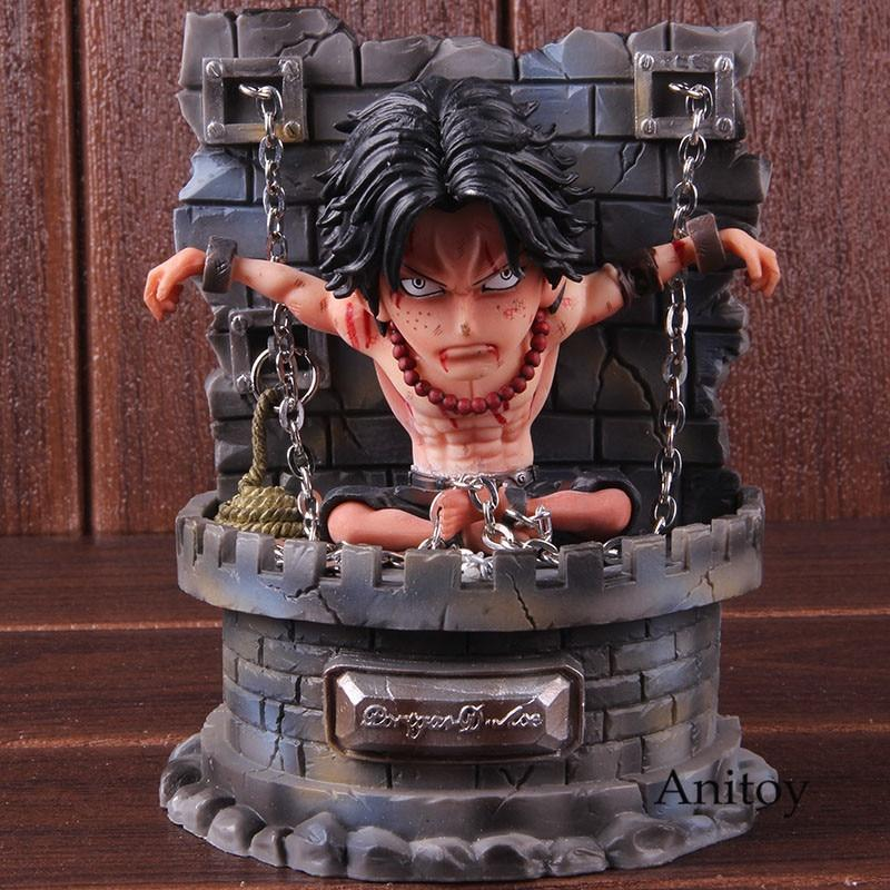 Figurine One Piece Portgas Ace Prison