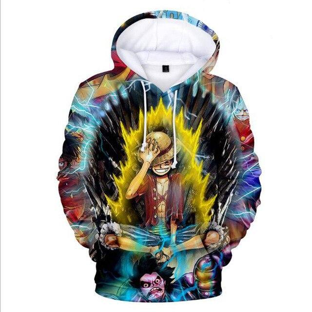 Sweat One Piece Luffy Dragon Ball