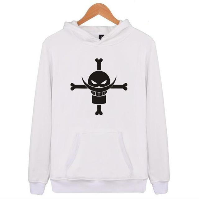 Sweat One Piece Jolly Roger en Noir