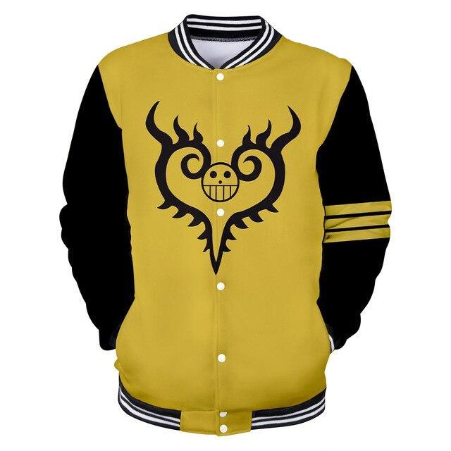 Veste Teddy One Piece Tatouage Law