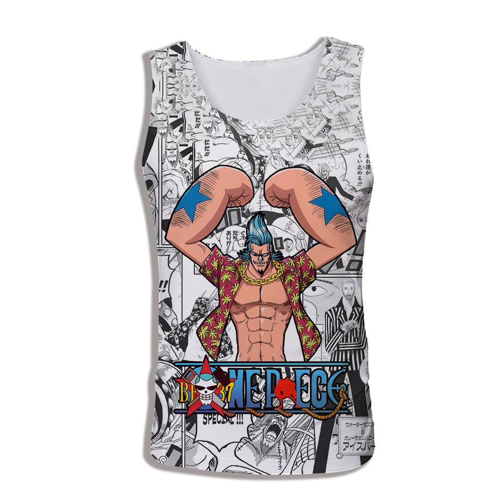 Débardeur One Piece Musculation Franky