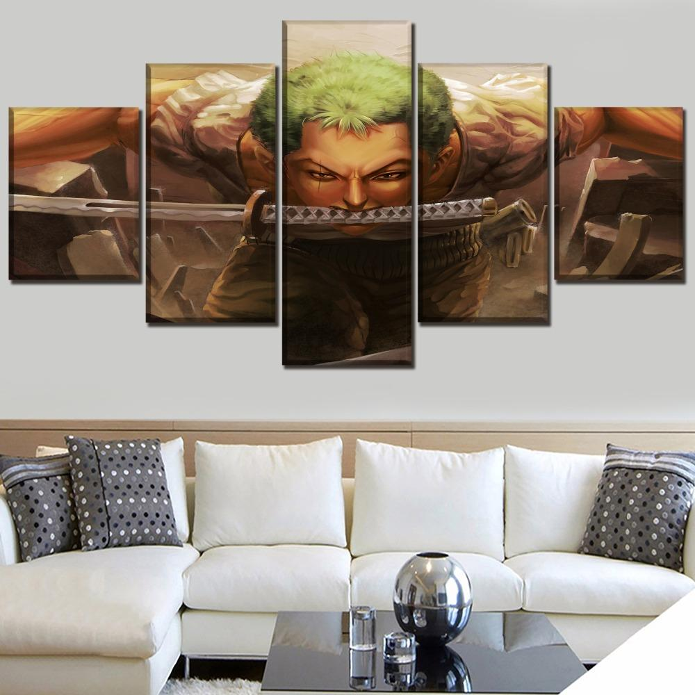 Tableau One Piece Zoro Roronoa