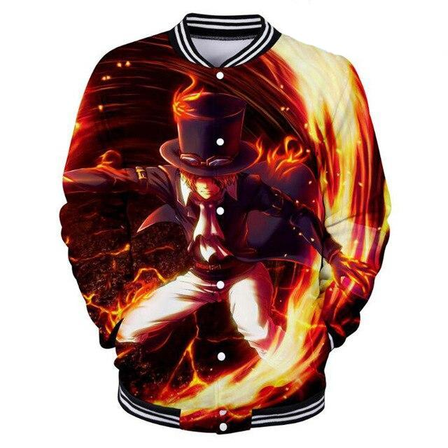 Veste Teddy One Piece Sabo