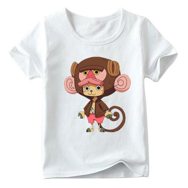 T-Shirt One Piece Enfant Tony Tony Chopper Singe